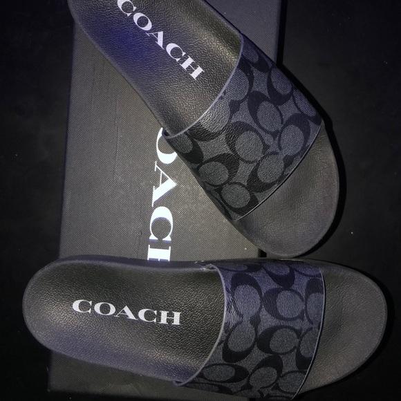 Coach Shoes   Mens Coach Slides Size 95